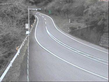 【冬季のみ公開】国道197号 北川 梼原町方向のライブカメラ|高知県津野町