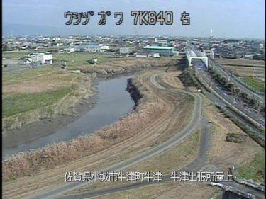 牛津川 牛津出張所屋上のライブカメラ|佐賀県小城市