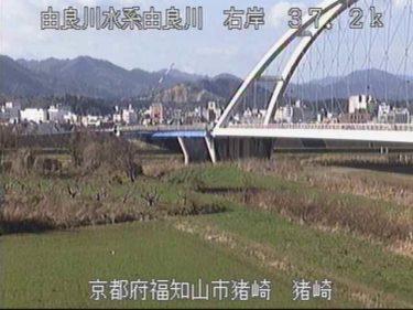 由良川 猪崎のライブカメラ|京都府福知山市