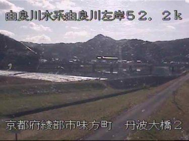 由良川 丹波大橋のライブカメラ|京都府綾部市