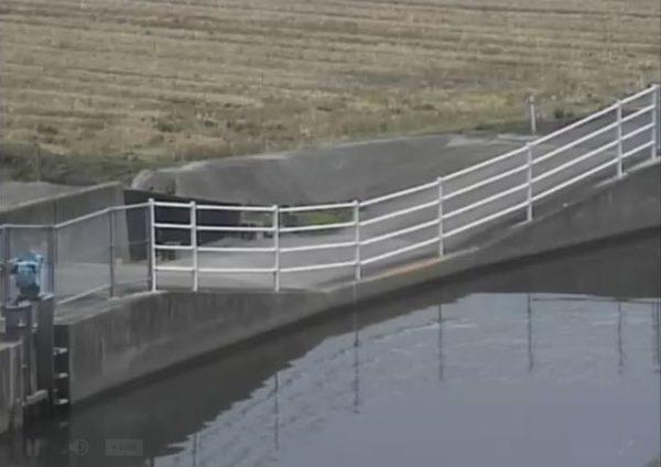 福所江 三日月1号排水路放流口のライブカメラ|佐賀県小城市