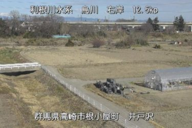 烏川 井戸沢(烏川)のライブカメラ|群馬県高崎市