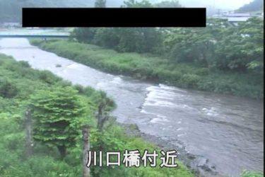 気仙川 川口橋付近のライブカメラ|岩手県住田町