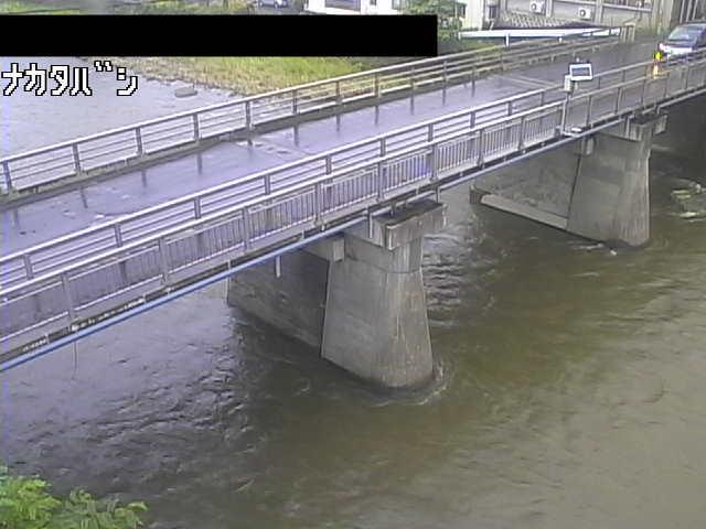 馬淵川 中田橋のライブカメラ|岩手県一戸町