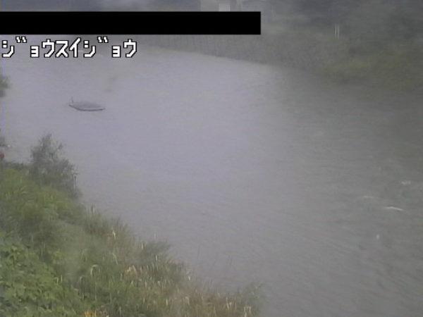 馬淵川 浄水場対岸のライブカメラ 岩手県一戸町