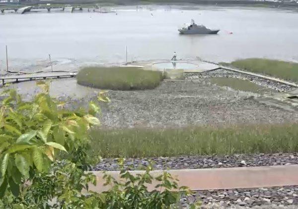 六角川 海遊ふれあいパークのライブカメラ|佐賀県小城市