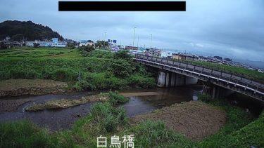 白鳥川 白鳥橋のライブカメラ 岩手県奥州市