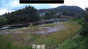 雫石川 昇瀬橋のライブカメラ 岩手県雫石町