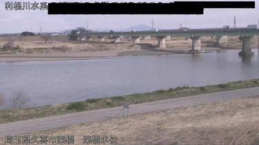 利根川 栗橋水位のライブカメラ|埼玉県久喜市