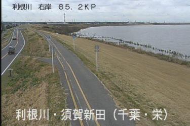 利根川 須賀新田のライブカメラ|千葉県栄町
