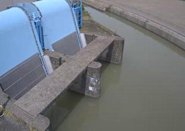 牛津川 川越排水機場のライブカメラ|佐賀県小城市